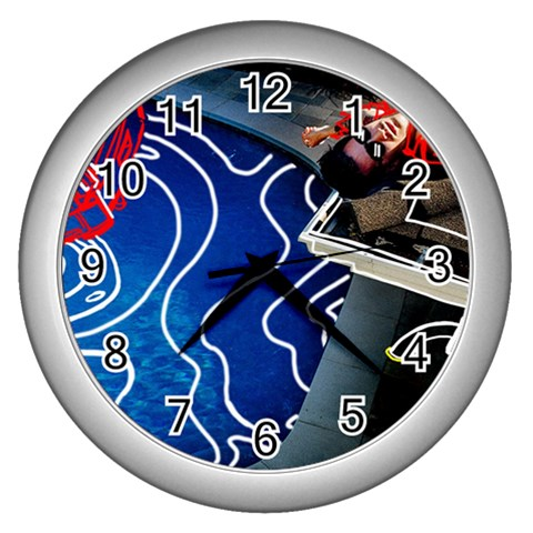 Panic! At The Disco Released Death Of A Bachelor Wall Clocks (Silver)