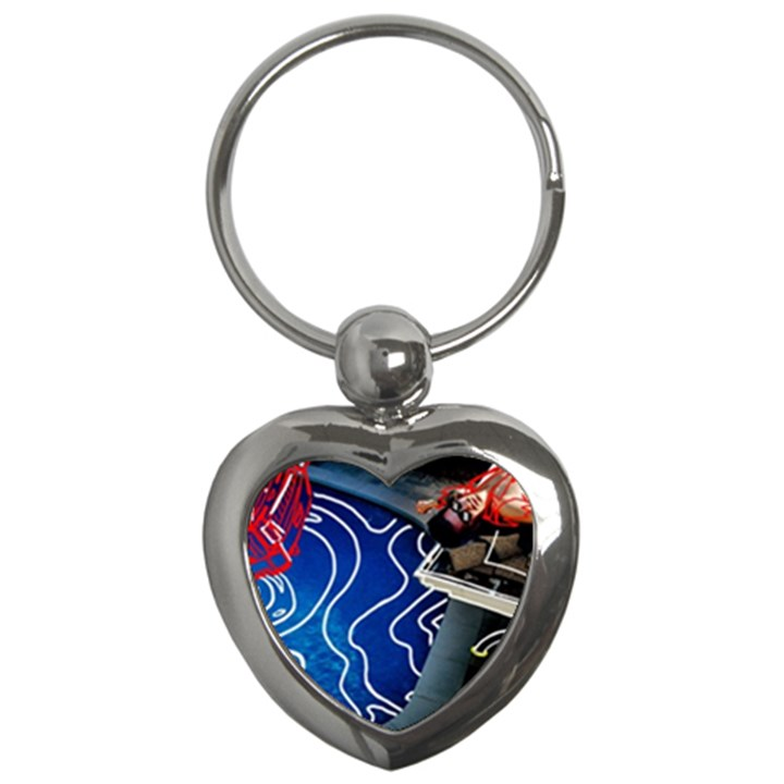 Panic! At The Disco Released Death Of A Bachelor Key Chains (Heart)