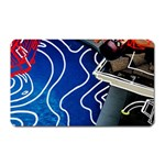 Panic! At The Disco Released Death Of A Bachelor Magnet (Rectangular) Front