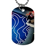 Panic! At The Disco Released Death Of A Bachelor Dog Tag (One Side) Front