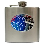 Panic! At The Disco Released Death Of A Bachelor Hip Flask (6 oz) Front