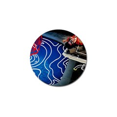 Panic! At The Disco Released Death Of A Bachelor Golf Ball Marker (4 pack)