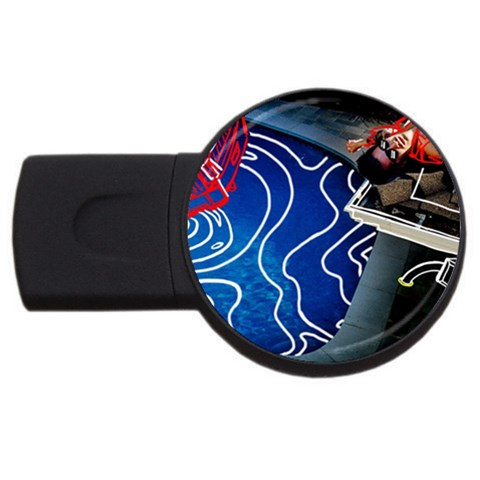 Panic! At The Disco Released Death Of A Bachelor USB Flash Drive Round (1 GB)