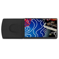 Panic! At The Disco Released Death Of A Bachelor USB Flash Drive Rectangular (2 GB)
