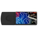 Panic! At The Disco Released Death Of A Bachelor USB Flash Drive Rectangular (1 GB)  Front