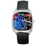 Panic! At The Disco Released Death Of A Bachelor Square Metal Watch Front