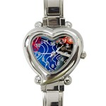 Panic! At The Disco Released Death Of A Bachelor Heart Italian Charm Watch Front