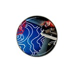 Panic! At The Disco Released Death Of A Bachelor Hat Clip Ball Marker Front