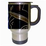Panic! At The Disco Released Death Of A Bachelor Travel Mug (Silver Gray) Right