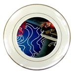 Panic! At The Disco Released Death Of A Bachelor Porcelain Plates Front