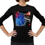 Panic! At The Disco Released Death Of A Bachelor Women s Long Sleeve Dark T-Shirts Front