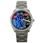 Panic! At The Disco Released Death Of A Bachelor Sport Metal Watch Front