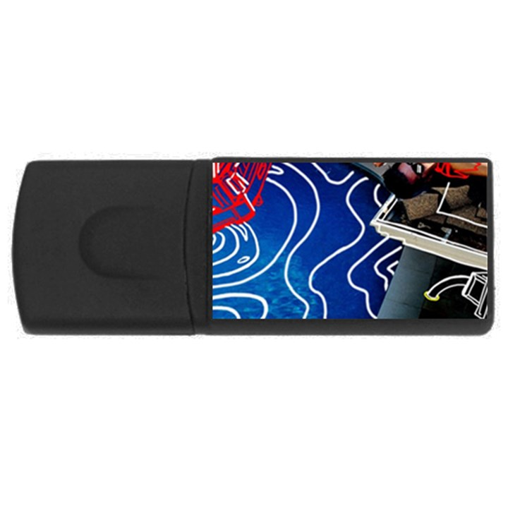 Panic! At The Disco Released Death Of A Bachelor USB Flash Drive Rectangular (4 GB)
