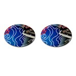 Panic! At The Disco Released Death Of A Bachelor Cufflinks (Oval) Front