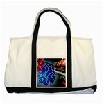 Panic! At The Disco Released Death Of A Bachelor Two Tone Tote Bag Front