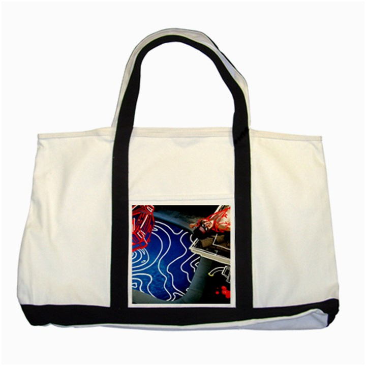 Panic! At The Disco Released Death Of A Bachelor Two Tone Tote Bag