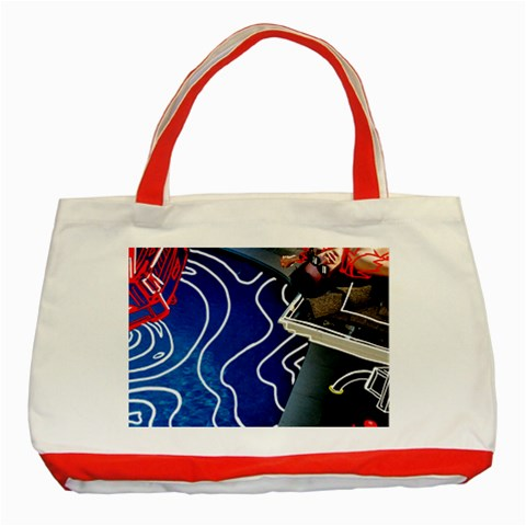 Panic! At The Disco Released Death Of A Bachelor Classic Tote Bag (Red)