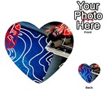 Panic! At The Disco Released Death Of A Bachelor Playing Cards 54 (Heart)  Front - Heart3