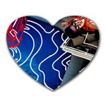 Panic! At The Disco Released Death Of A Bachelor Heart Mousepads Front