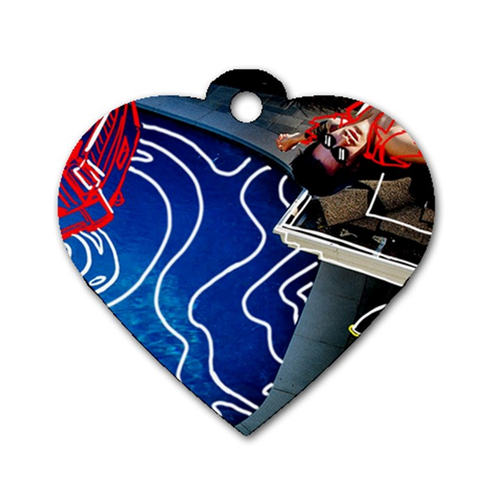 Panic! At The Disco Released Death Of A Bachelor Dog Tag Heart (One Side)