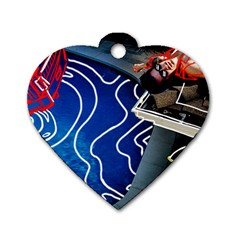 Panic! At The Disco Released Death Of A Bachelor Dog Tag Heart (Two Sides)