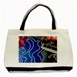 Panic! At The Disco Released Death Of A Bachelor Basic Tote Bag (Two Sides) Front