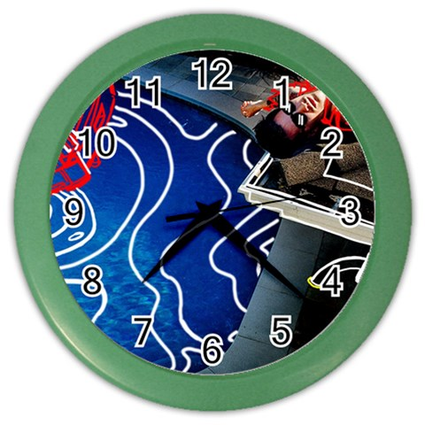 Panic! At The Disco Released Death Of A Bachelor Color Wall Clocks