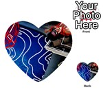 Panic! At The Disco Released Death Of A Bachelor Multi-purpose Cards (Heart)  Back 12