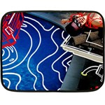 Panic! At The Disco Released Death Of A Bachelor Double Sided Fleece Blanket (Mini)  35 x27 Blanket Back