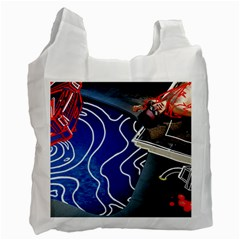 Panic! At The Disco Released Death Of A Bachelor Recycle Bag (one Side)