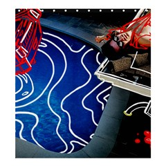 Panic! At The Disco Released Death Of A Bachelor Shower Curtain 66  x 72  (Large)