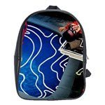 Panic! At The Disco Released Death Of A Bachelor School Bags(Large)  Front
