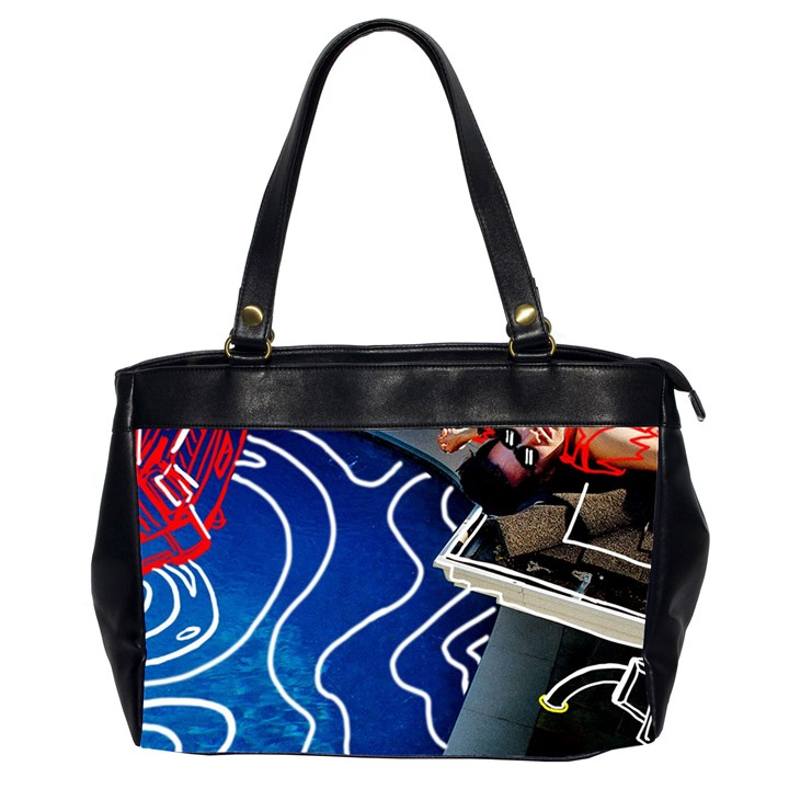 Panic! At The Disco Released Death Of A Bachelor Office Handbags (2 Sides)