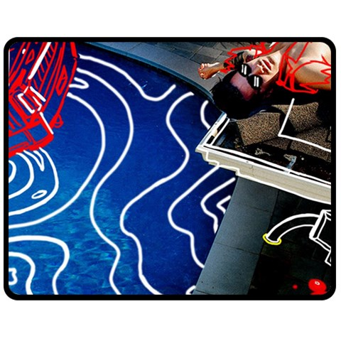 Panic! At The Disco Released Death Of A Bachelor Fleece Blanket (Medium)