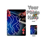 Panic! At The Disco Released Death Of A Bachelor Playing Cards 54 (Mini)  Front - Heart9