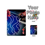 Panic! At The Disco Released Death Of A Bachelor Playing Cards 54 (Mini)  Front - Diamond5
