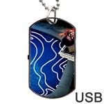 Panic! At The Disco Released Death Of A Bachelor Dog Tag USB Flash (Two Sides)  Back