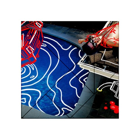 Panic! At The Disco Released Death Of A Bachelor Acrylic Tangram Puzzle (4  x 4 )