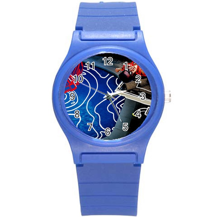 Panic! At The Disco Released Death Of A Bachelor Round Plastic Sport Watch (S)