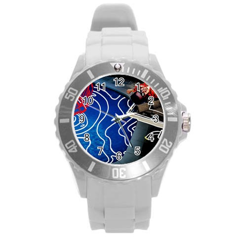 Panic! At The Disco Released Death Of A Bachelor Round Plastic Sport Watch (L)