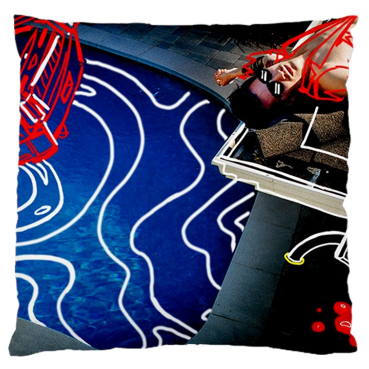 Panic! At The Disco Released Death Of A Bachelor Large Cushion Case (One Side)