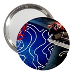 Panic! At The Disco Released Death Of A Bachelor 3  Handbag Mirrors Front