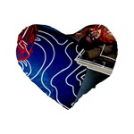 Panic! At The Disco Released Death Of A Bachelor Standard 16  Premium Heart Shape Cushions Front