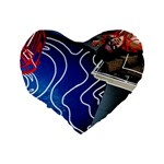Panic! At The Disco Released Death Of A Bachelor Standard 16  Premium Heart Shape Cushions Back