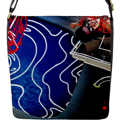 Panic! At The Disco Released Death Of A Bachelor Flap Messenger Bag (S)