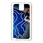 Panic! At The Disco Released Death Of A Bachelor Samsung Galaxy Note 3 N9005 Case (White) Front