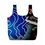 Panic! At The Disco Released Death Of A Bachelor Full Print Recycle Bags (M)  Front