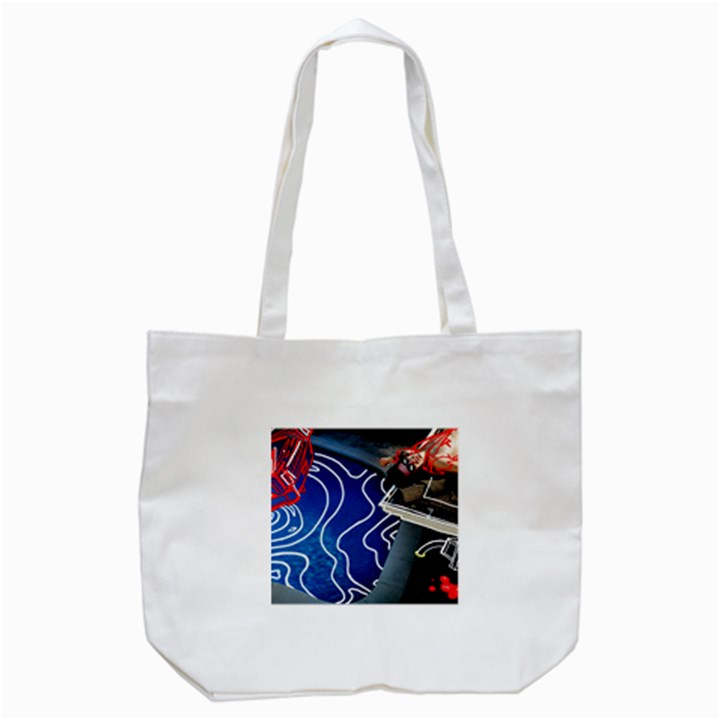 Panic! At The Disco Released Death Of A Bachelor Tote Bag (White)