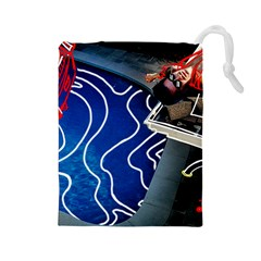 Panic! At The Disco Released Death Of A Bachelor Drawstring Pouches (Large)