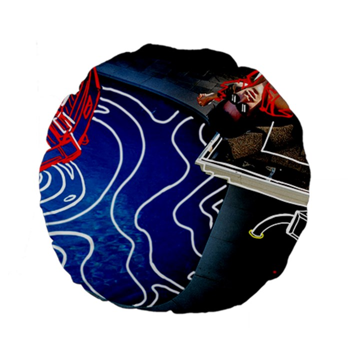 Panic! At The Disco Released Death Of A Bachelor Standard 15  Premium Flano Round Cushions